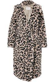 Max Mara - Oversized leopard-print faux fur coat at Net A Porter