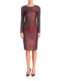 Max Mara - Varna Jacquard Dress at Saks Fifth Avenue