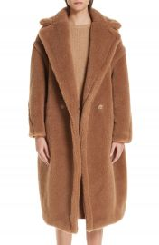 Max Mara Teddy Bear Icon Faux Fur Coat   Nordstrom at Nordstrom