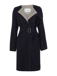 MaxMara Giunchi wool stretch coat at Ede & Ravenscroft