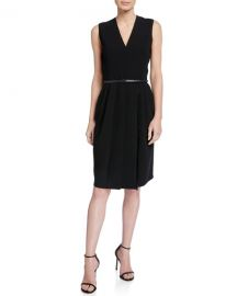 Maxmara Pedale Cady Dress at Neiman Marcus