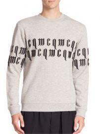 McQ Alexander McQueen - Clean Crewneck Sweatshirt at Saks Fifth Avenue
