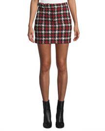McQ Alexander McQueen Belted Mini Skirt at Neiman Marcus