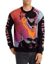 McQ Alexander McQueen Frentic Double-Knit Sweater  Men - Bloomingdale s at Bloomingdales