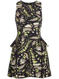 Mcq By Alexander Mcqueen Butterfly Print Dress - at Farfetch