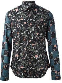 Mcq By Alexander Mcqueen Floral Print Shirt - at Farfetch