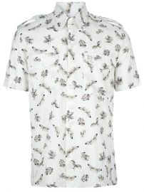 Mcq By Alexander Mcqueen Short-sleeved Printed Shirt - at Farfetch