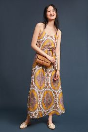 Medallion Maxi Dress by Akemi  Kin at Anthropologie