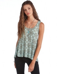 Medallion print tank top by Free People at Lord & Taylor