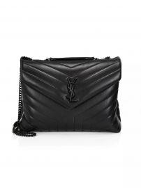 Medium Loulou Matelassé Leather Shoulder Bag by Saint Laurent at Saks Fifth Avenue