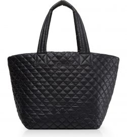 Medium Metro Quilted Nylon Tote at Nordstrom