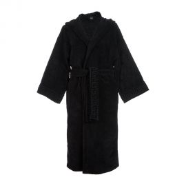 Medusa Classic Hooded Bathrobe by Versace at Amara