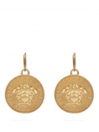 Medusa Pendant Earrings by Versace at Matches