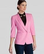 Meeda blazer in pink by Ted Baker at Bloomingdales