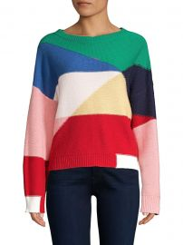 Megu Colorblock Knit Pullover at Saks Fifth Avenue