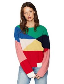 Megu Pullover Colorblock Sweater at Amazon