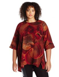 Melissa McCarthy Seven7 Women s Plus Size Hilo Skimmer Top at Amazon