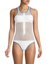 Melissa Odabash - One-Piece Zuma Mesh Swimsuit at Saks Fifth Avenue