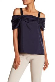 Mendini Cold Shoulder Blouse by Tibi at Nordstrom Rack