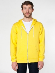 Mens hoodie in yellow at American Apparel