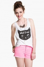 Meow kitty tank at Nordstrom
