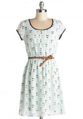 Meows the Moment Dress at ModCloth