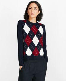 Merino Wool Argyle Sweater at Brooks Brothers