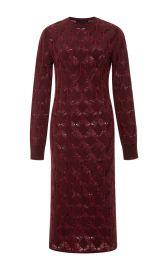 Merino Wool Crochet Knit Dress by Thakoon at Moda Operandi