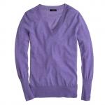 Merino vneck sweater at J. Crew