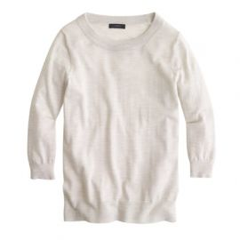 Merino wool Tippi sweater in Grey at J. Crew
