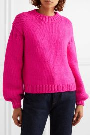 Merino wool sweater at Net A Porter