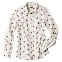 Merona bird print shirt at Target