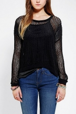 Mesh sweater by ByCorpus at Urban Outfitters