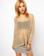 Mesh sweater by Wwul at Asos