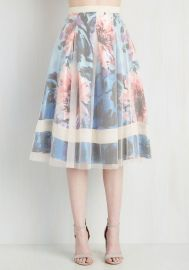 Meshed to the Nines Skirt at ModCloth