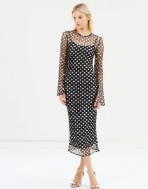 Metal Mesh Midi Dress by By Johnny. at The Iconic