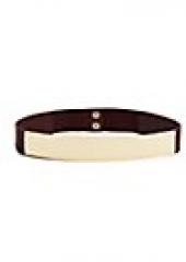 Metal Plate Belt at Guess