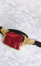 Metallic Bum Bag by Metallic Bum Bag by Pretty Little Thing at Pretty Little Thing