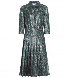 Metallic Dress by Prada at Mytheresa