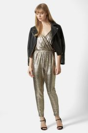 Metallic Snakeskin Jumpsuit at Nordstrom Rack