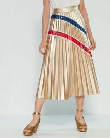 Metallic Stripe Skirt by Stella Jean at Shopbop
