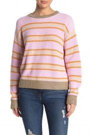 Metallic Trim Stripe Sweater at Nordstrom Rack