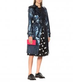 Metallic Vinyl Trench Coat by Marc Jacobs at My Theresa