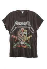 Metallica On Tour Tee by Madeworn at Shop Super Street