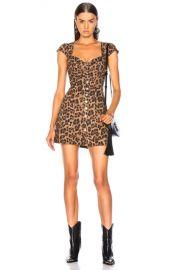 Miaou Gigi Dress in Leopard   FWRD at Forward