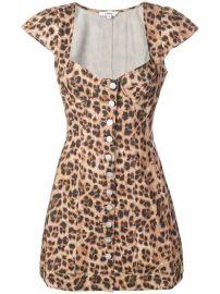 Miaou Gigi Leopard Print Dress - Farfetch at Farfetch