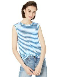 Michael Stars Iris Stripe Linen Tank at Amazon