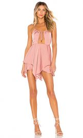 Michael Costello x REVOLVE Brendan Romper in Rose from Revolve com at Revolve
