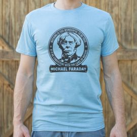Michael Faraday Tee at 6 Dollar Shirts