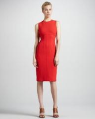 Michael Kors Boucle Sheath Dress at Neiman Marcus